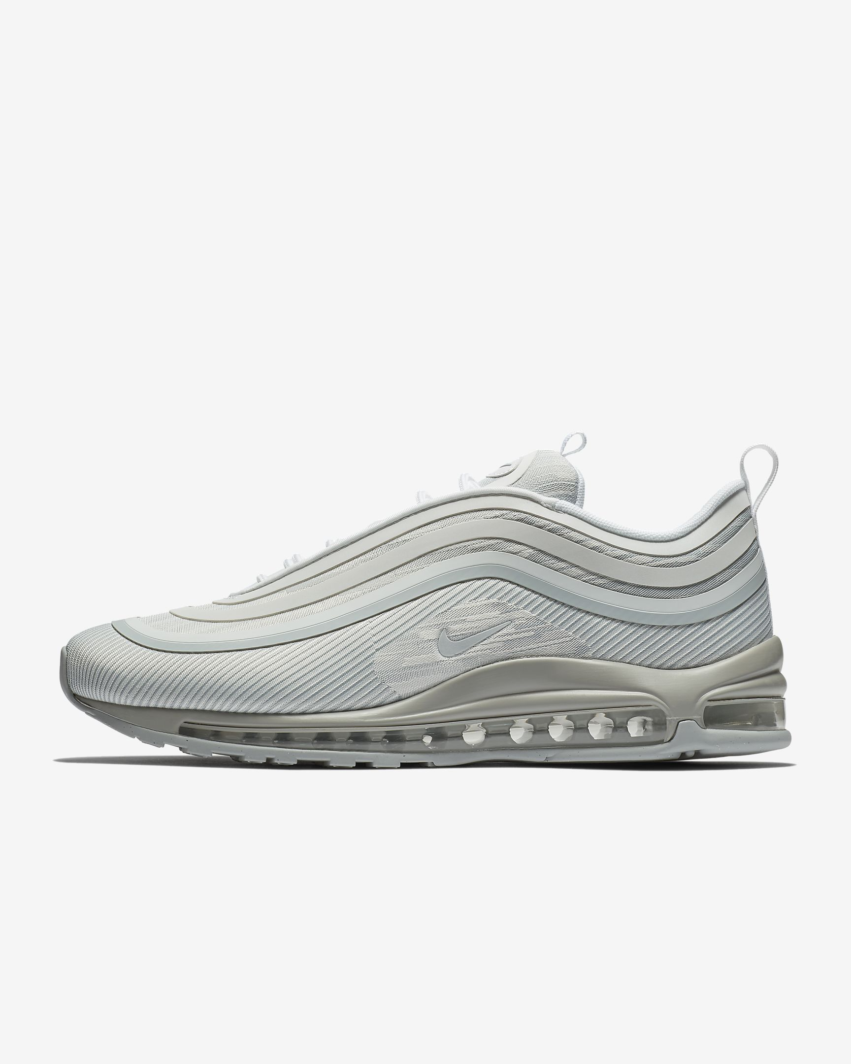 sale retailer 8ea8c ae250 Nike Air Max 97 Ultra '17 Pure Platinum/Bianco/Wolf Grey/Pure ...